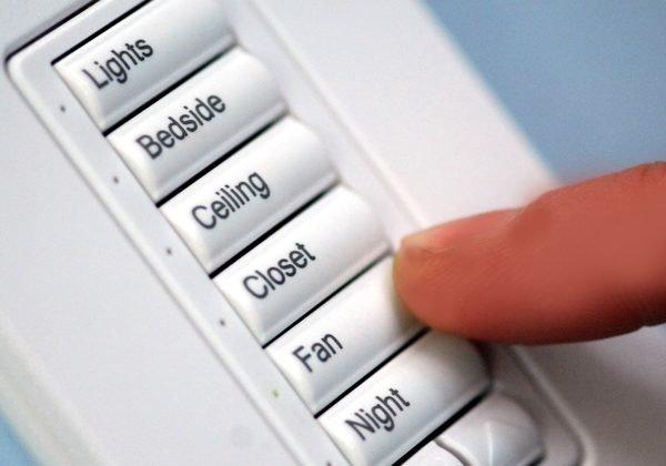Lighting-control-keypad